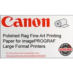 Canon Polished Rag 44 X 50   300 GSM  ROLL