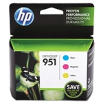 HP 951 3 PACK COLOR, CYAN, MAGENTA, YELLOW