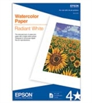 "EPSON Watercolor Paper Radiant White, SB, (13""x19""), 20 sheets"