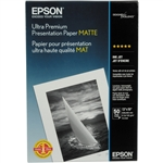 "EPSON Premium Luster Photo Paper 13"" x 19"", 100 Sheet Bulk Pack"