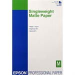 "EPSON Singleweight Matte Paper 13"" x 19"". This Item has been replaced by S041339 Epson Ultra Premium Presentation Paper Matte 13"" x 19"" (50 Sheets)"