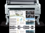 Epson SureColor T-Series 7270D 44-Inch Printer Dual Roll With 5 inks and 1 Year Warranty,  Model SCT7270DR and Instant Rebate