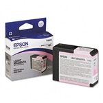 T580600  EPSON UltraChrome Light Magenta Ink 80ml, Stylus Pro 3800/3880