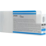 T596200 Epson Ultrachrome HDR Cyan Ink, 350ml, Stylus Pro 7890/9890/7900/9900/7700/9700