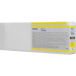 T636400 Epson Ultrachrome HDR Yellow Ink, 700ml, Stylus Pro 7890/9890/7900/9900