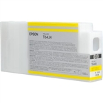 T642400 Epson Ultrachrome HDR Yellow Ink, 150ml, Stylus Pro 7890/9890/7900/9900