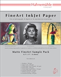 "Matte Smooth Sample Pack 8.5"" x 11"" 14 sheets"