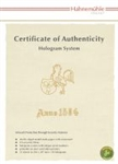 Certificate Of Authenticity (A4) 25 sheet packs