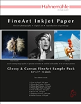 "Glossy Sample Pack 8.5"" x 11"" 14 sheets Two sheets of seven media types:"