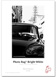 "Photo Rag Brt Wht 310gsm 8.5"" x 11""  25 Sheets"