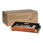 Yellow Standard Capacity Print Cartridge, Phaser 6280