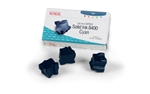 Genuine Xerox Solid Ink 8400 Cyan (Three Sticks)
