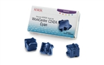 Genuine Xerox WorkCentre C2424 Solid Ink Cyan (3 Sticks)