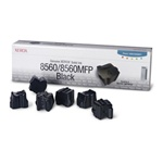 Genuine Xerox Solid Ink Black, Phaser 8560/8560MFP (6 Sticks)