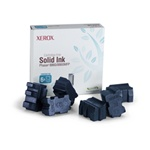 Genuine Xerox Solid Ink Cyan, Phaser 8860/8860MFP (6 Sticks)