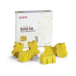 Genuine Xerox Solid Ink Yellow, Phaser 8860/8860MFP (6 Sticks)