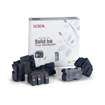 Genuine Xerox Solid Ink Black, Phaser 8860/8860MFP (6 Sticks)