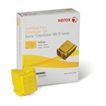 Xerox Colorqube Ink Yellow, Colorqube 8870 (6 Sticks),  17,300 Capacity