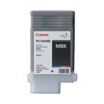 Canon Ink Tank PFI-105BK - Pigment Matte Black Ink Tank 130ml