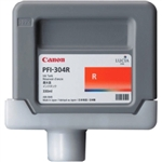 Canon Ink Tank PFI-304R - Pigment Red Ink Tank 330ml