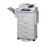 WorkCentre 4250 45 ppm Mono Printer/Copier/Scanner, Fax, Finisher, Three Extra Trays, Four Tray Stand, 110V