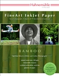 "Bamboo 290 gsm 8.5"" x 11""  20 Sheets (Discontinued Limited Supply"