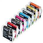 EPSON UltraChrome Photo Black Set of Seven Ink s220ml, Stylus Pro 7600/9600/4000  SAVE WHEN YOU BUY A COMPLETE SET