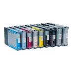 EPSON UltraChrome K3 PHOTO Black Set of 8 inks 220ml Ink, Stylus Pro 7800/9800 (T603 SERIES) SAVE WHEN YOU BUY A COMPLETE SET AT $80.50 EACH