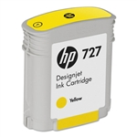Ink Cartridge,HP727,132 ML DESIGNJET,YELLOW