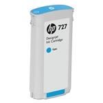 Ink Cartridge,HP727,132 ML DESIGNJET,CYAN