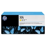 Ink Cartridge,HP771, 3/PK,YELLOW