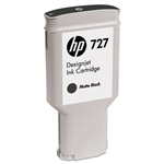 Ink Cartridge,HP727,300ML,MATTE BLACK