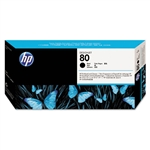 Ink Cartridge,HP80,BLK PRINTHEAD