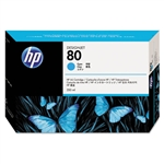 Ink Cartridge,HP80,350ML,CYAN