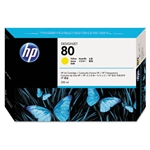 Ink Cartridge,HP80,350ML,YELLOW