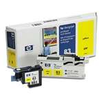 PRINTHEAD,CLEANER,HP 83,IJ,YELLOW