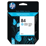 Ink Cartridge,HP 84 DESIGN JET 69 MIL, LIGHT CYAN