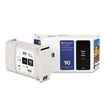Ink Cartridge,HP 90, 400ML,BLACK