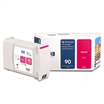 Ink Cartridge,HP 90, 400ML,MAGENTA