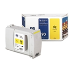 Ink Cartridge,HP 90, 225ML,YELLOW