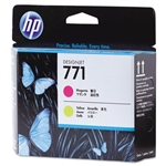 PRINTHEAD,HP771,MAGENTA/YELLOW