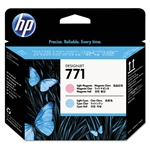 PRINTHEAD,HP771,LIGHT MAGENTA/LIGHT CYAN