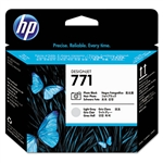 PRINTHEAD,HP771,PHOTO BLACK/LIGHT GRAY