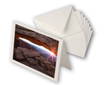 Entradalopes Natural 7x10 cards, A7 envs 25 cards/25 envelopes