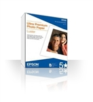 "Epson Premium Luster Photo Paper, 8.3"" x 11.7"", 250 Sheet Bulk Pack REPLACED BY S041913 8.5 X 11 PRM LUSTER"