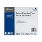 "EPSON Proofing Paper White Semimatte 17"" x 100'"