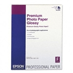 EPSON Premium Glossy Photo Paper 17'' x 22'', 25 Sheets
