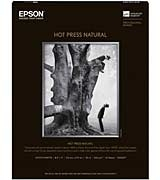 "EPSON Hot Press Natural 8.5"" x 11"" 25 Sheets"