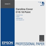 "EPSON Carolina Cover C1S 18 Point 24"" x 36"" Sheets"