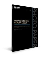 Epson Metallic Photo Paper Glossy 8.5 x 11 (25 sheets) S045589